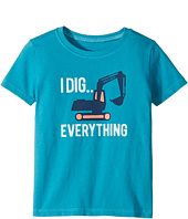Life is Good Kids - I Dig Everything Crusher Tee (Toddler)