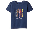 Life is Good Kids Human Crayons Crusher Tee (Toddler)