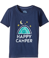 Life is Good Kids - Happy Camper Crusher Tee (Toddler)