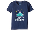 Life is Good Kids Happy Camper Crusher Tee (Toddler)