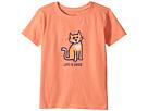 Life is Good Kids Cat Love Crusher Tee (Toddler)