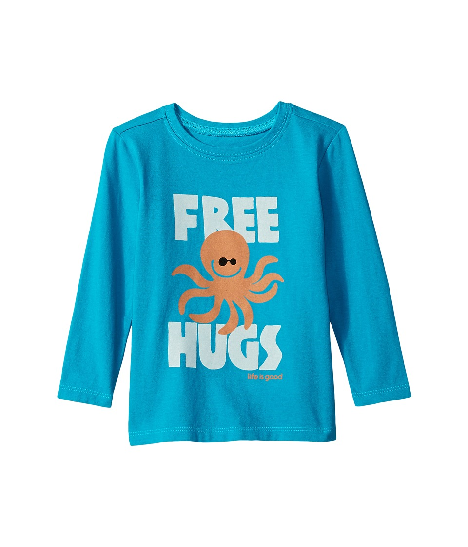 Life is Good Kids - Free Hugs Long Sleeve Crusher Tee