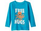 Life is Good Kids Free Hugs Long Sleeve Crusher Tee (Toddler)