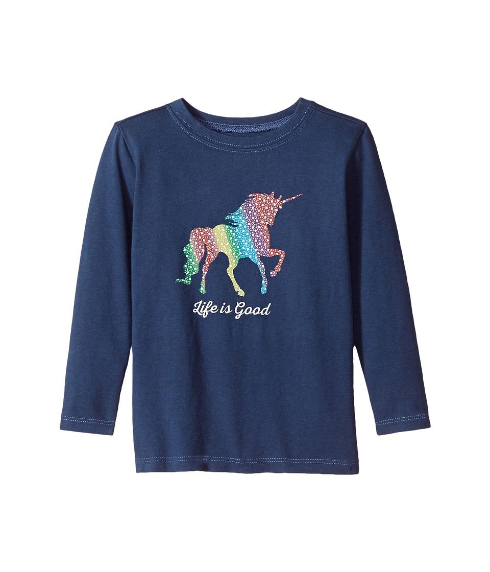Life is Good Kids - Unicorn Long Sleeve Crusher Tee