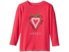 Life is Good Kids Sweet Strawberry Long Sleeve Crusher Tee (Toddler)