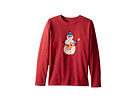 Life is Good Kids Jammin' Snowman Long Sleeve Crusher Tee (Little Kids/Big Kids)