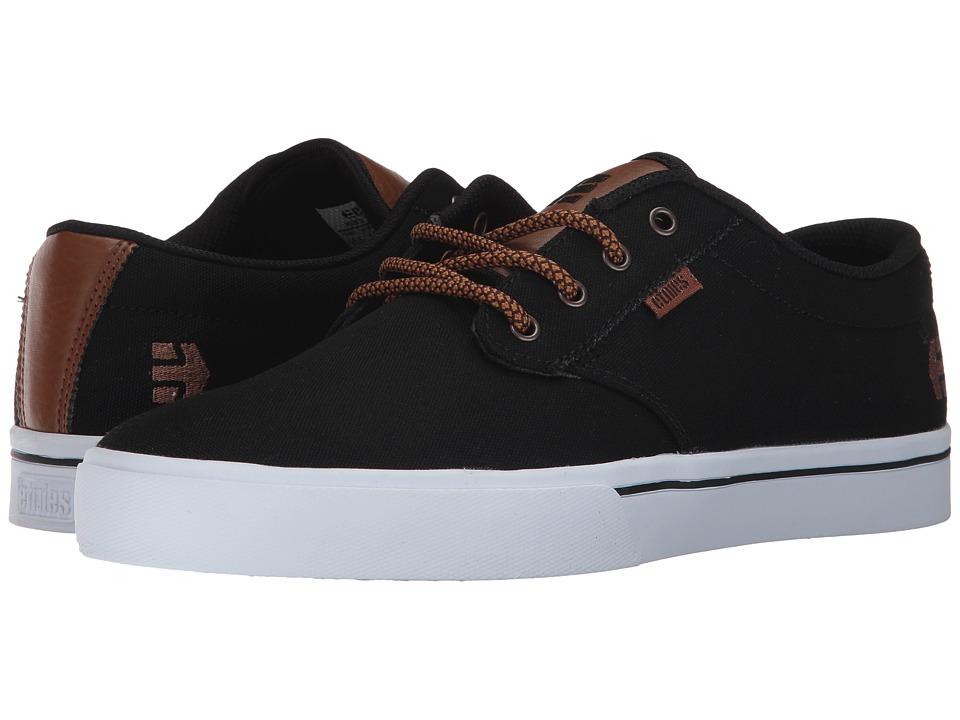 etnies - Jameson 2 Eco (Black Raw) Mens Skate Shoes