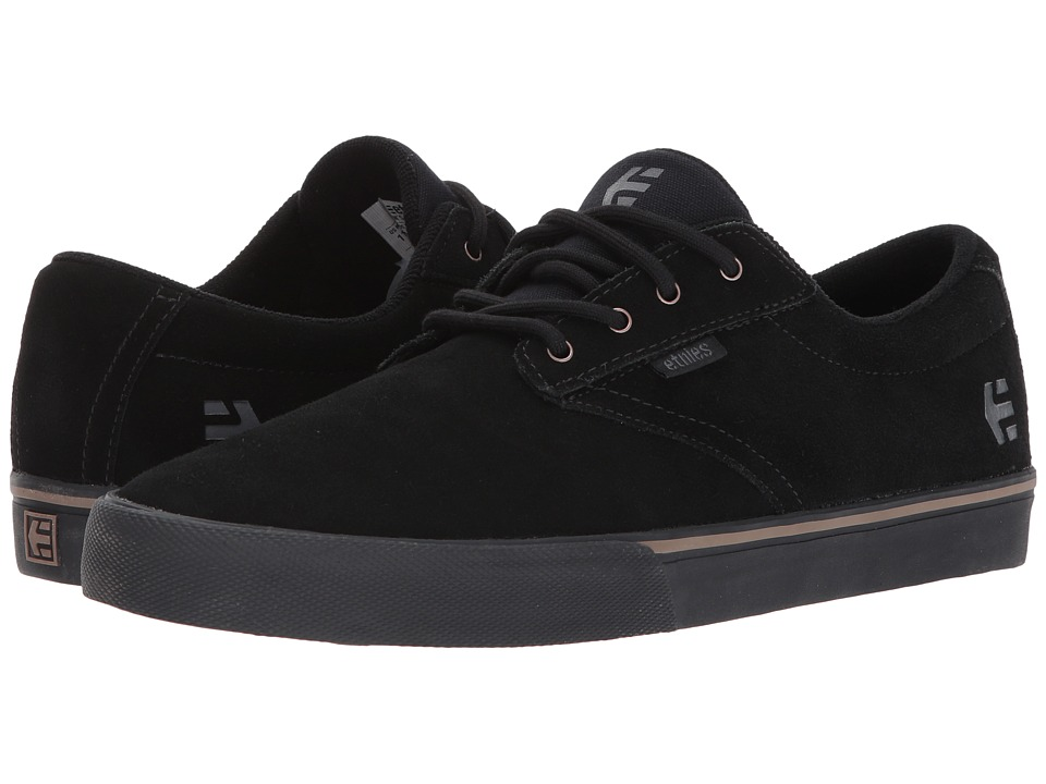 etnies Jameson Vulc (Black/Black/Gum) Men