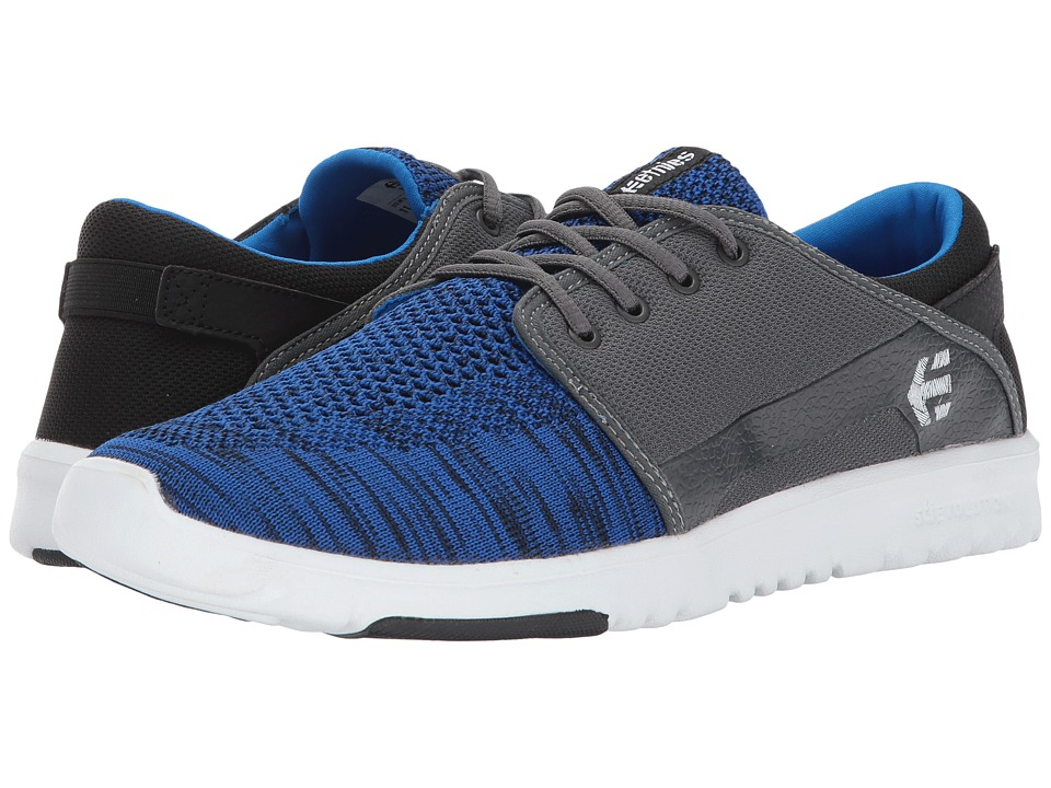 etnies Scout YB (Black/Blue/Grey) Men