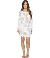 Letarte - Crochet Long Sleeve Cover-Up