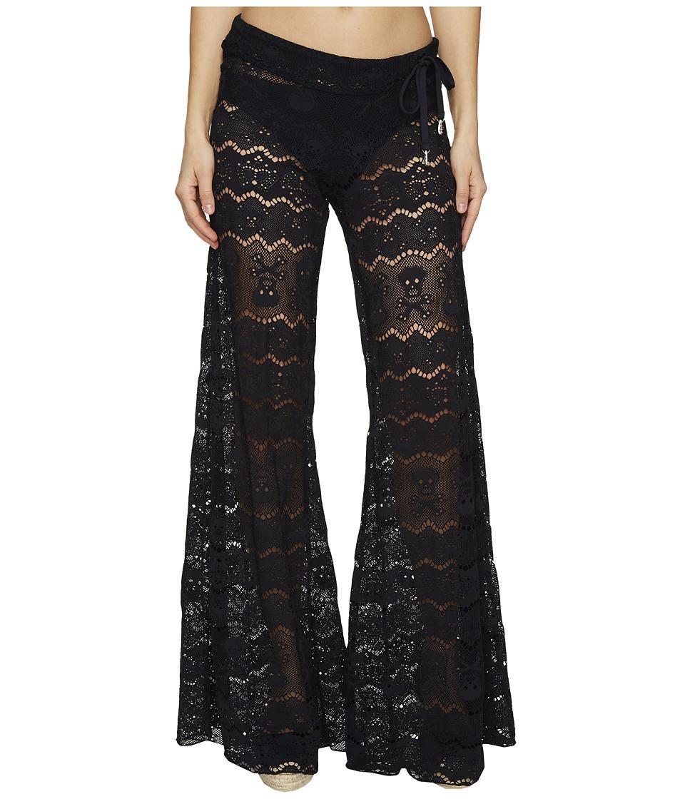Letarte Skull Lace Pants (Black) Women