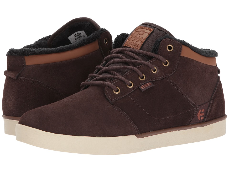 etnies Jefferson Mid (Brown/Brown) Men