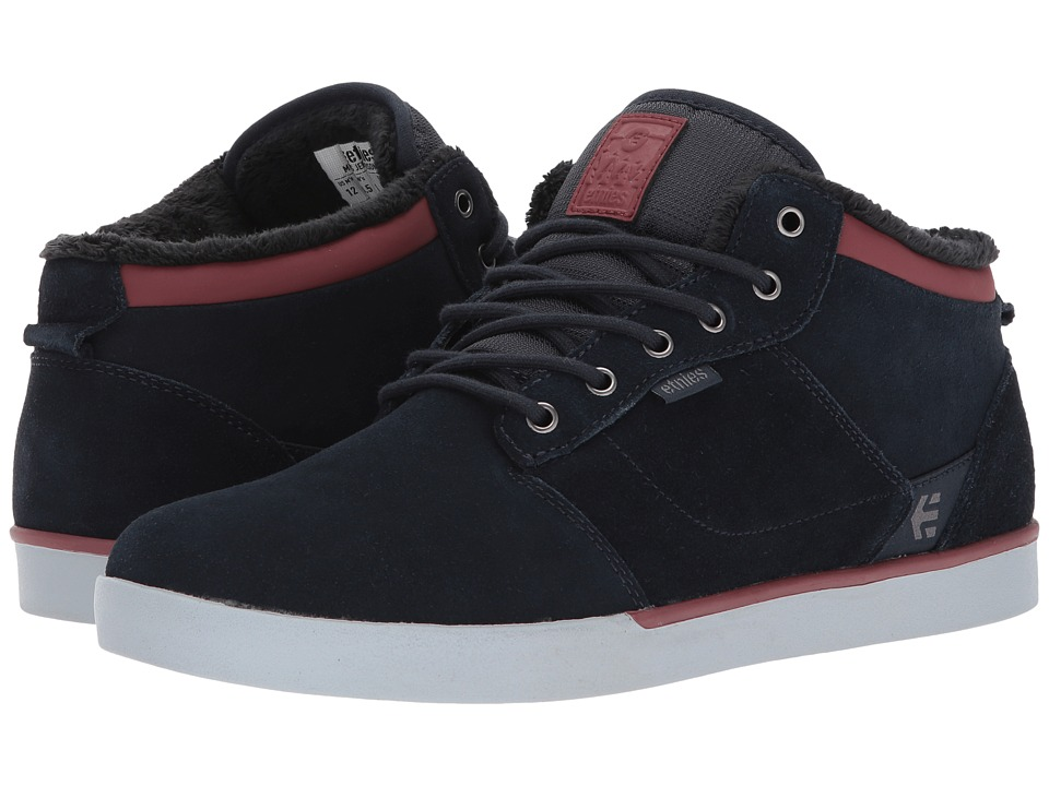 etnies Jefferson Mid (Navy/Grey) Men