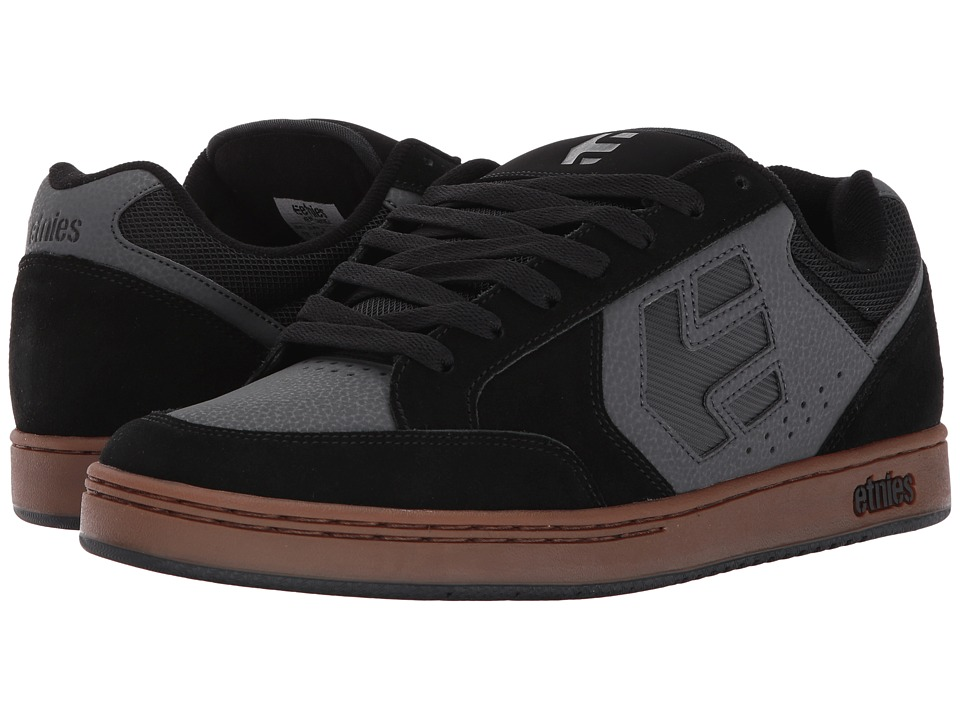 etnies Swivel (Black/Grey/Gum) Men
