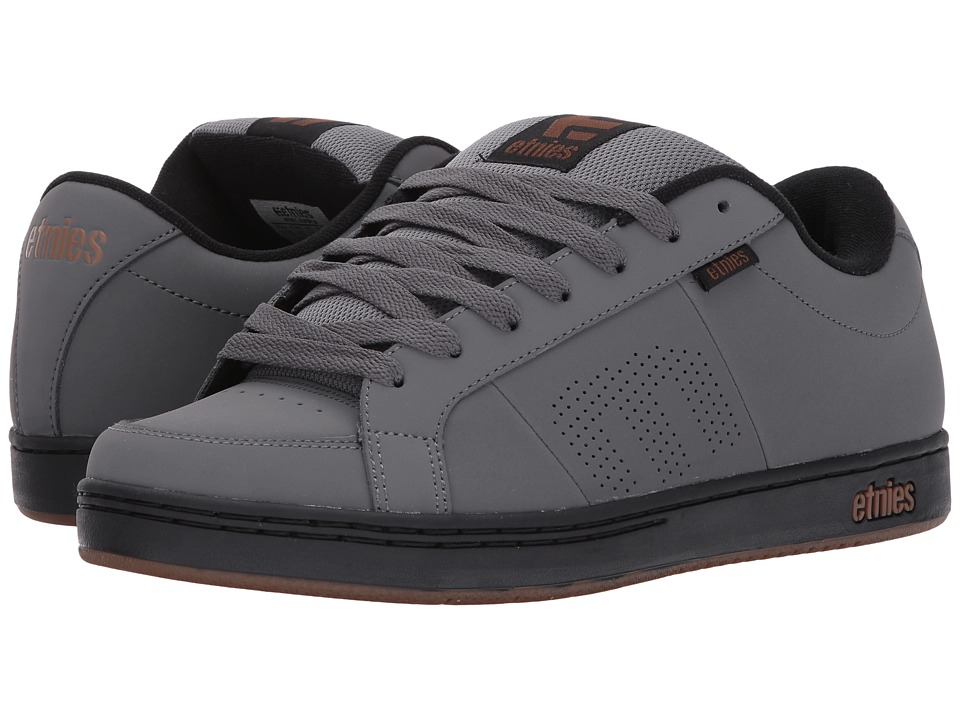 etnies Kingpin (Grey/Black/Gold) Men