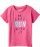 Under Armour Kids - Just Run with It Shirt (Toddler)