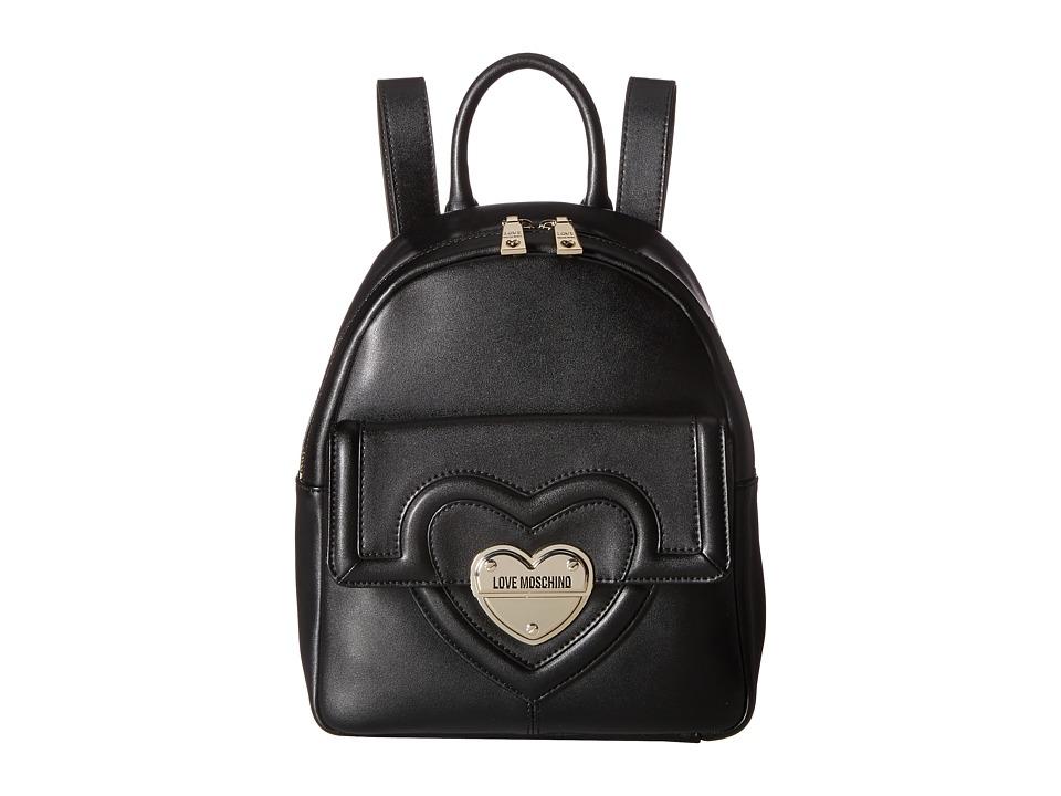LOVE Moschino - Leather Mini Backpack