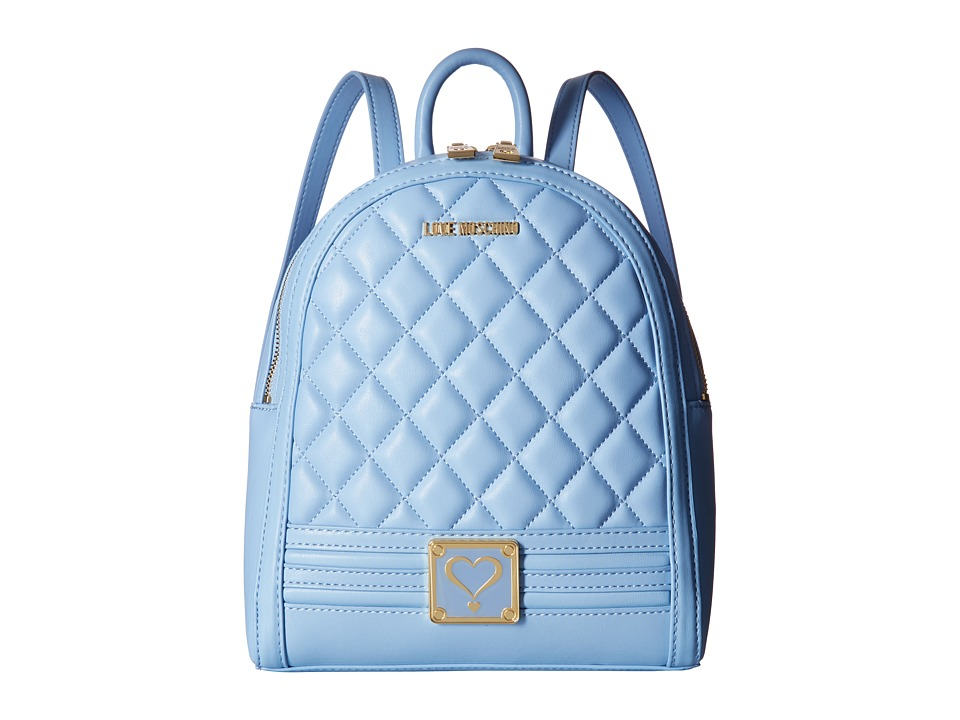 LOVE Moschino - Quilted Mini Backpack