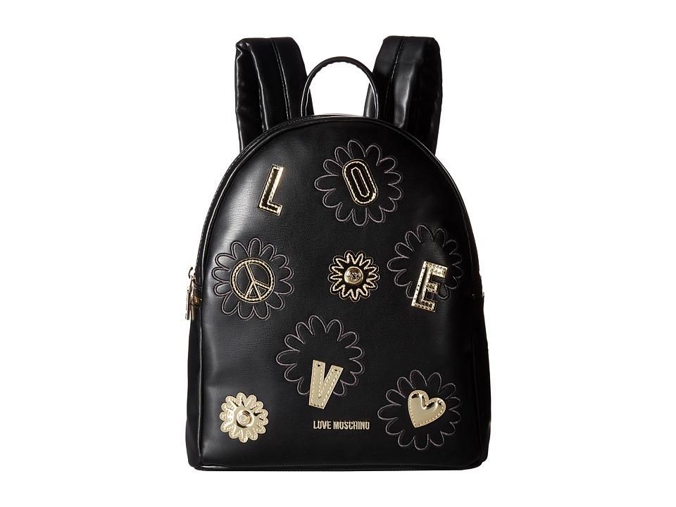 LOVE Moschino - Flower Love Backpack