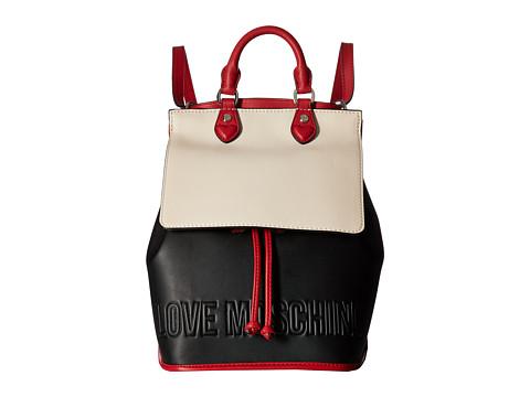 LOVE Moschino Embossed Hi-Freq Logo Backpack