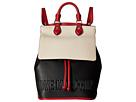 LOVE Moschino - Embossed Hi-Freq Logo Backpack