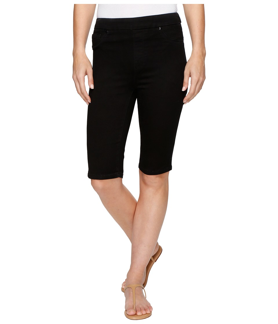 Tribal - Pull-On 13 Bermuda Dream Jeans in Black