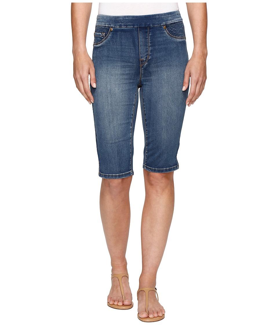 Tribal - Pull-On 13 Bermuda Dream Short in Retro Blue (Retro Blue) Womens Shorts