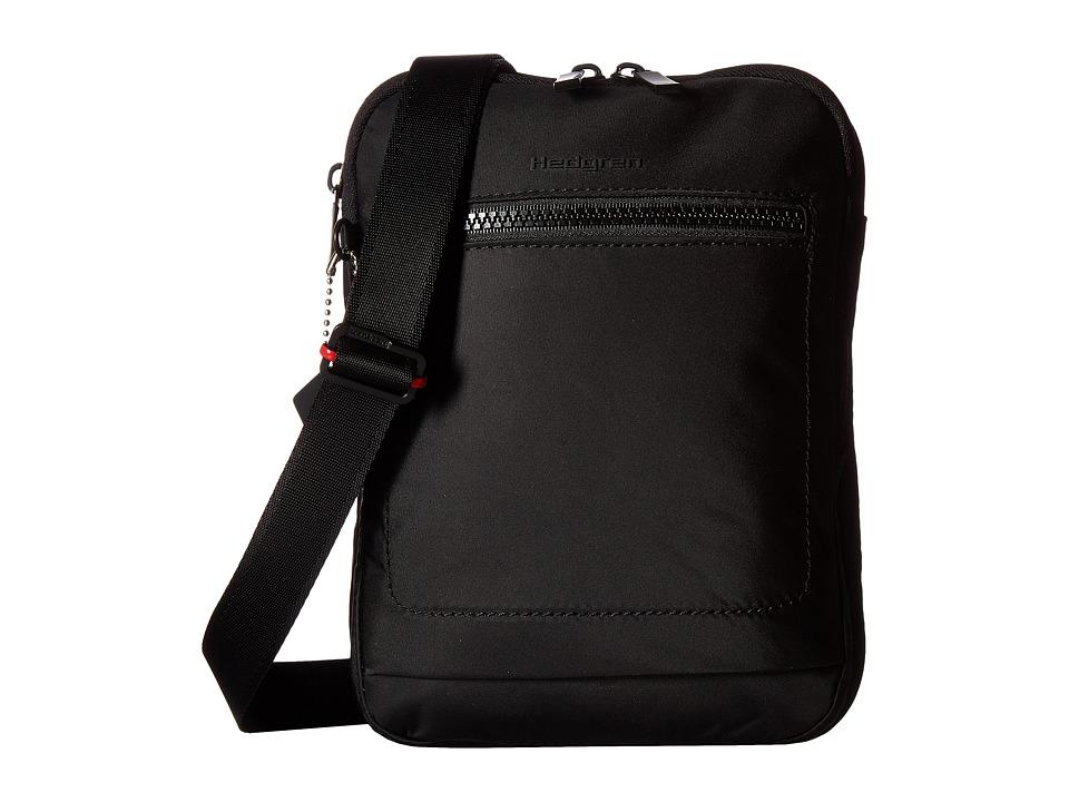 Hedgren - Inter-City Trek Vertical Crossbody RFID (Black) Cross Body Handbags