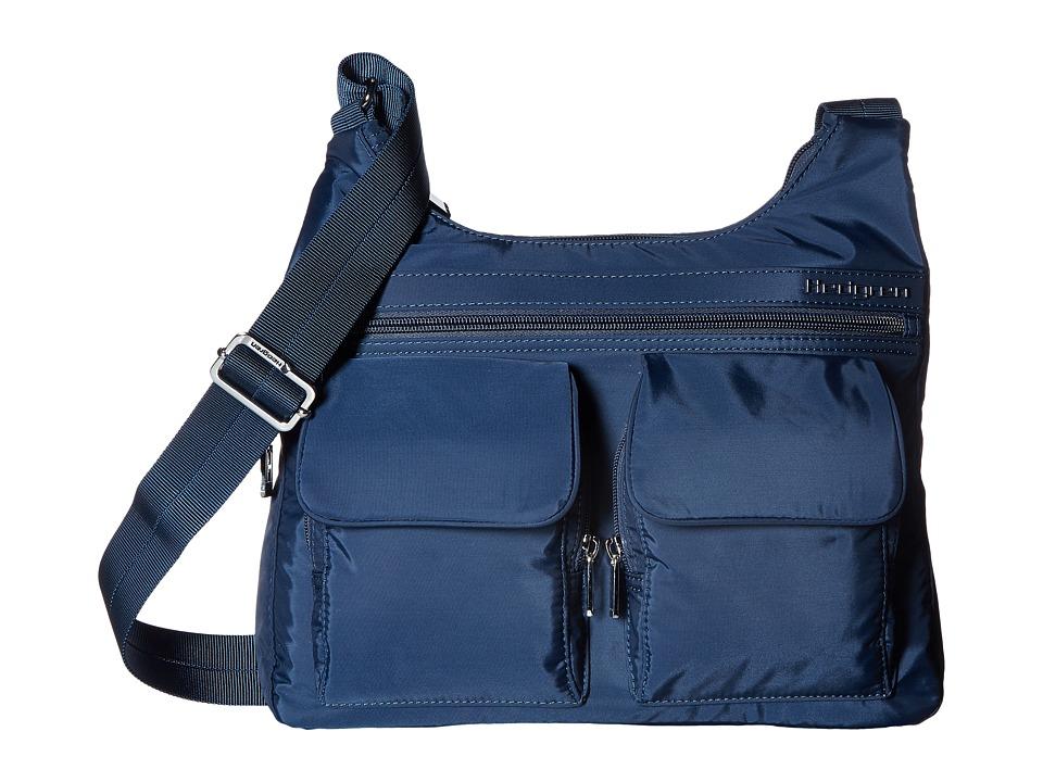 Hedgren - Inner City Prairie Crossbody (Dress Blue) Cross Body Handbags