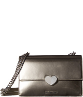 LOVE Moschino - Metallic Shoulder Bag w/ Heart