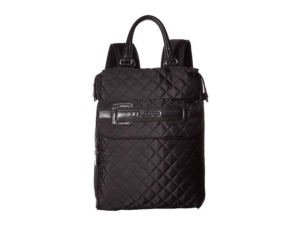 Hedgren - Diamond Kayla 2 Way Backpack (Black) Backpack Bags