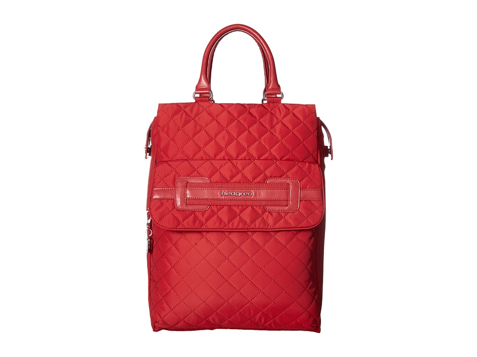 Hedgren Diamond Kayla 2 Way Backpack (Red) Backpack Bags