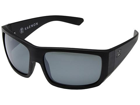 Kaenon Malaga - Pinstripe/Grey 12 Polarized Black Mirror