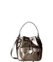 LOVE Moschino - Cut Heart Patent Bucket Bag