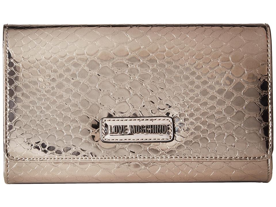 LOVE Moschino - Shiny Python Evening Bag