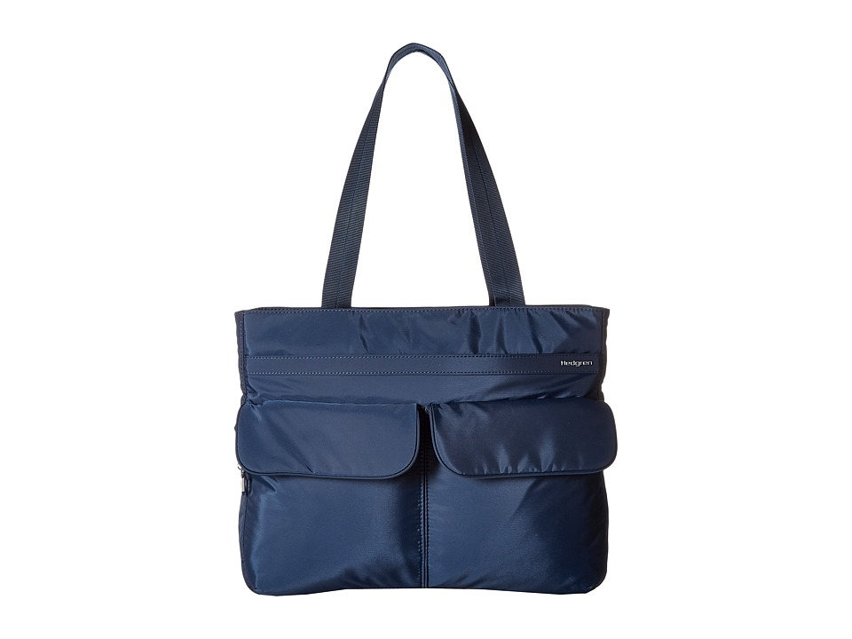 Hedgren Inner City Caja Tote (Dress Blue) Tote Handbags