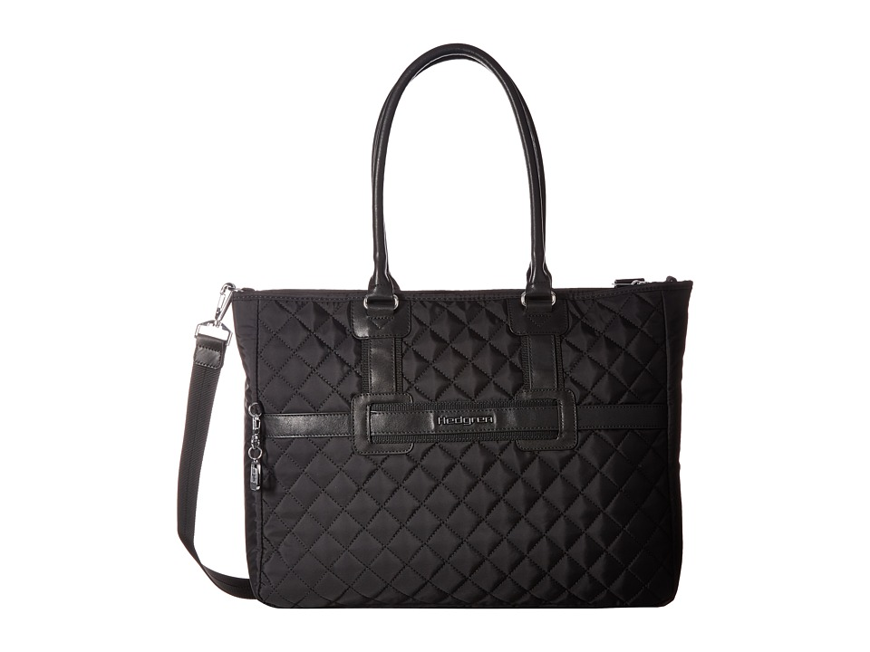 Hedgren - Diamond Andreia Tote (Black) Tote Handbags