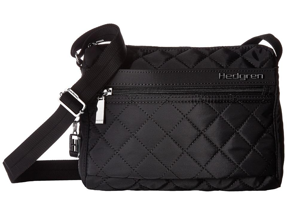 Hedgren - Diamond Carina Shoulder Bag (Black) Shoulder Handbags