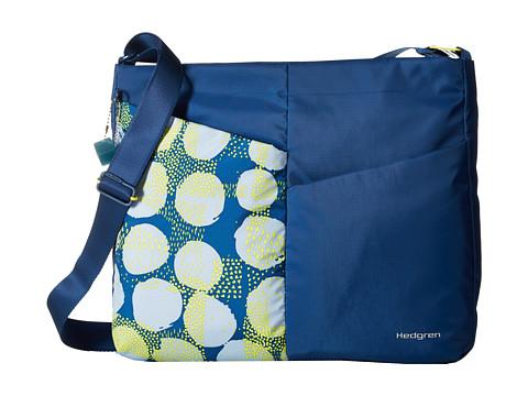 Hedgren Pilates Hatha Large Shoulder - Spots Blue
