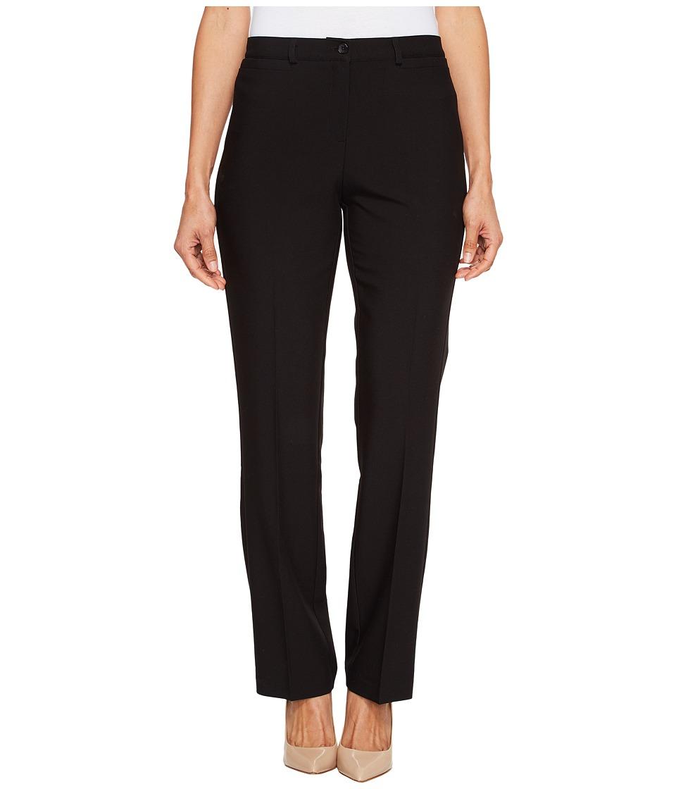 Tribal - Petite Soft Twill Flatten It Straight Pants Original Fit 30