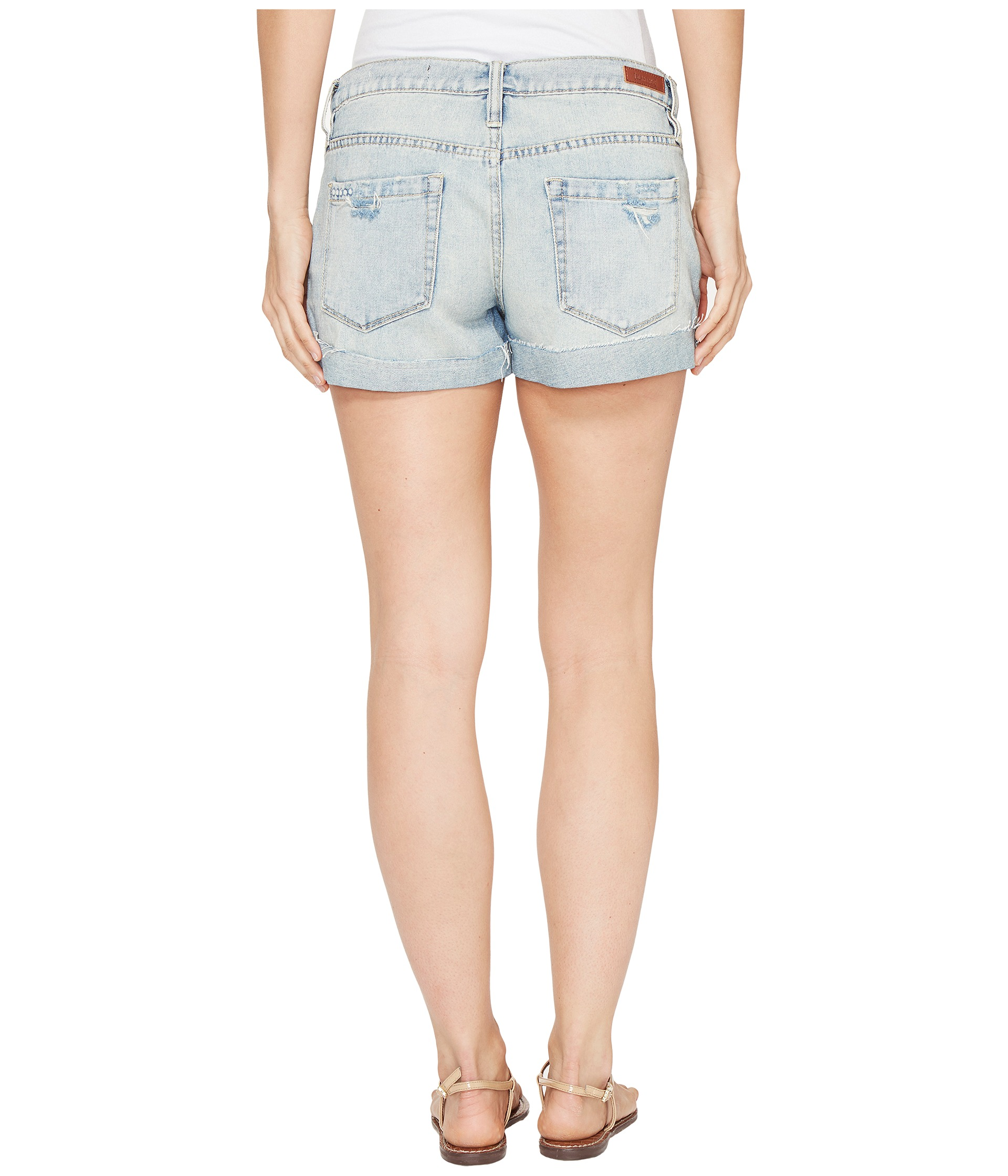 how to make denim shorts longer