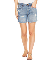 Blank NYC - Denim Destructed Mom Shorts in Ms. Throwback