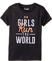 Under Armour Kids - Run The World Short Sleeve (Little Kids)