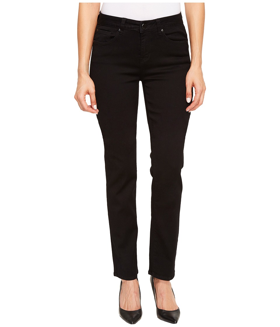 TRIBAL Five-Pocket 33 Straight Leg Dream Jeans in Black (...