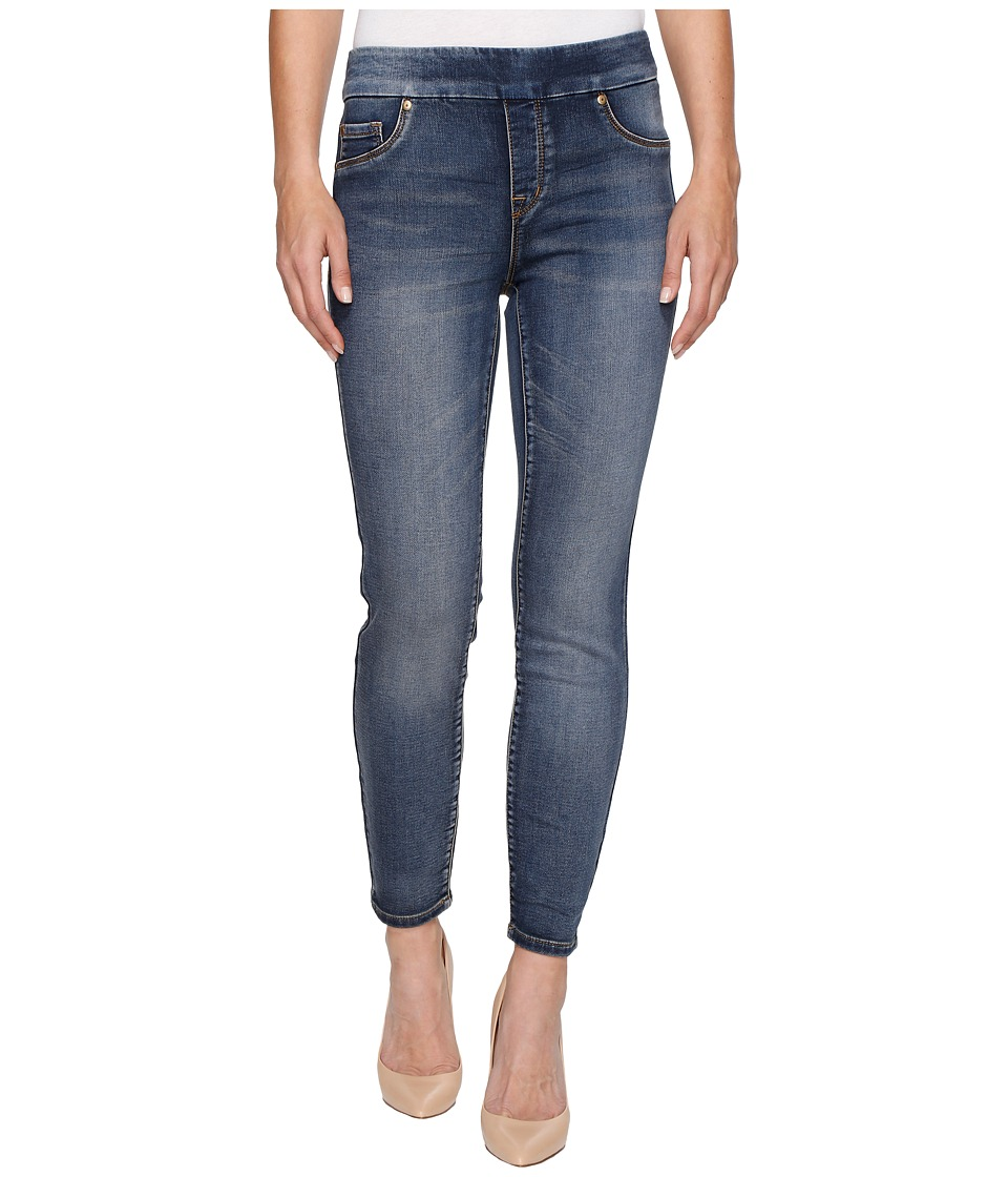 TRIBAL Pull-On Knit Denim 28 Ankle Jegging in Medium Wash...