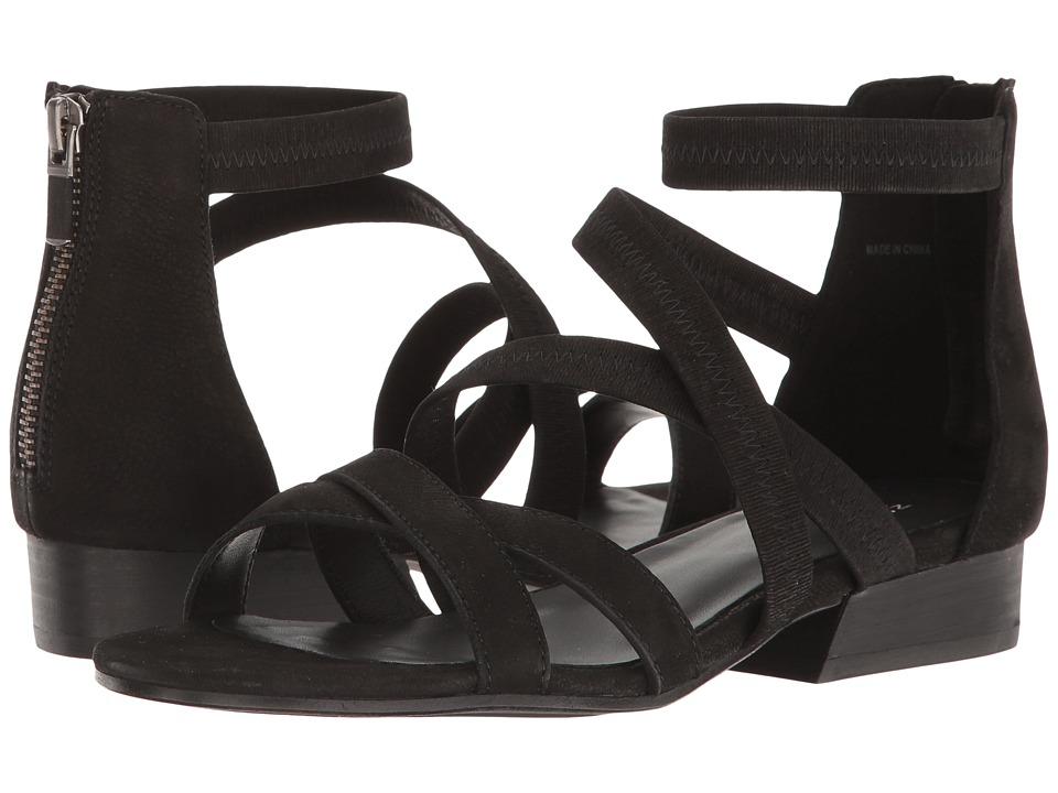 Eileen Fisher - Eva (Black Nubuck) Womens 1-2 inch heel Shoes