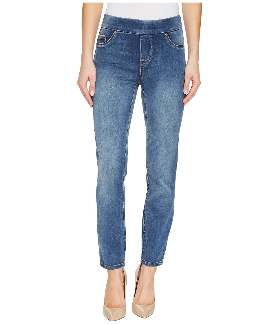 Tribal - Pull-On Ankle 28 Dream Jeans in Retro Blue (Retro Blue) Womens Jeans