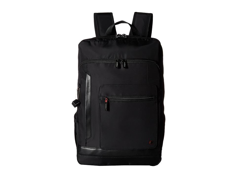 Hedgren Zeppelin Expel Backpack (Black) Backpack Bags