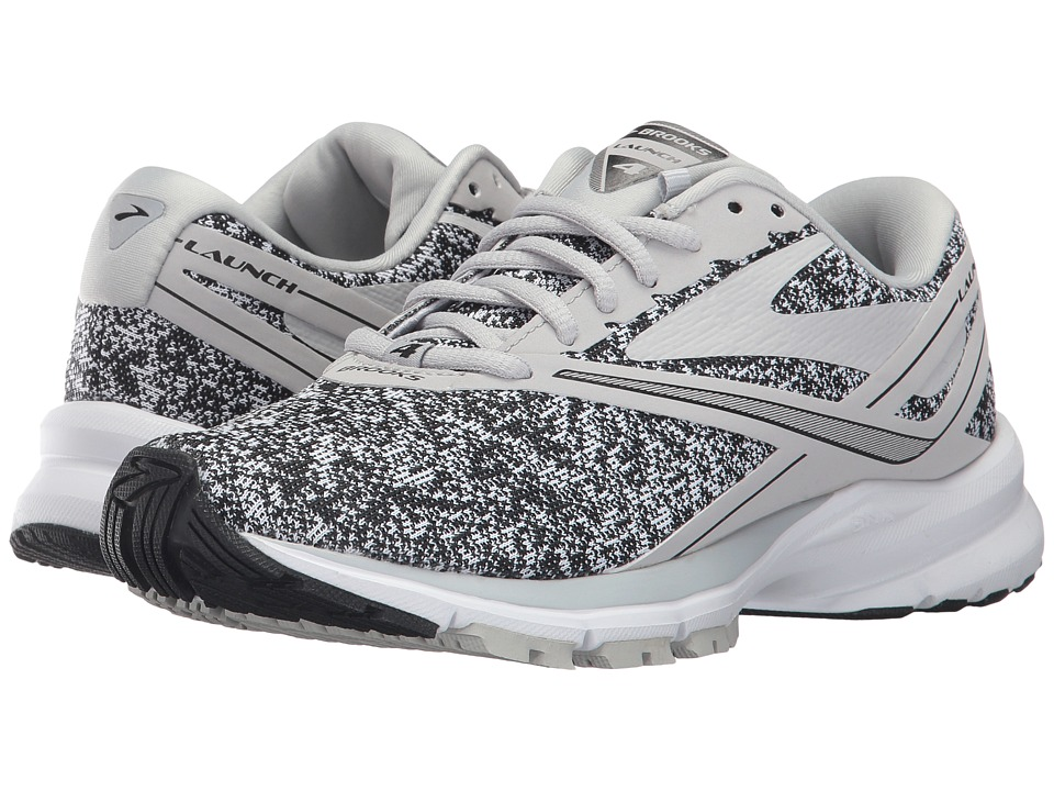 Brooks Launch 4 (White/Microchip) Women