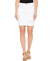 AG Adriano Goldschmied - Erin Skirt in White Intuition